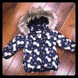 H&M Elsa puff jacket size 2T
